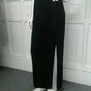 St. John Evening by Marie Gray Skirts - St John Long Black Knit Skirt